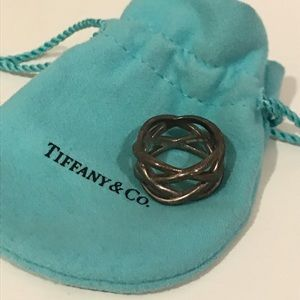 Tiffany & Co. braided criss cross band